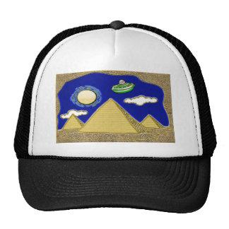 UFO Over Egypt Trucker Hats
