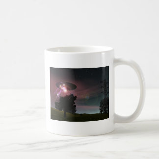 UFO Over Powerlines 2 Mug
