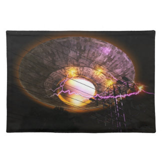 UFO Over Powerlines American MoJo Placemats