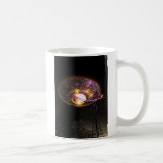 UFO Over Powerlines Mug