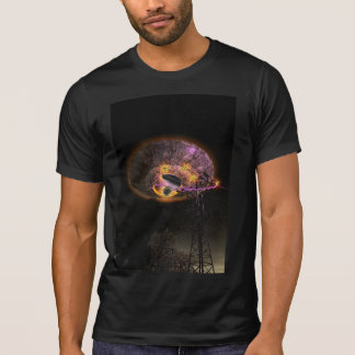 UFO Over Powerlines T-Shirt