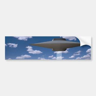 UFO PEGATINA PARA AUTO
