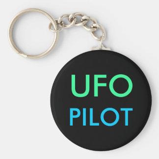 UFO PILOT keychain