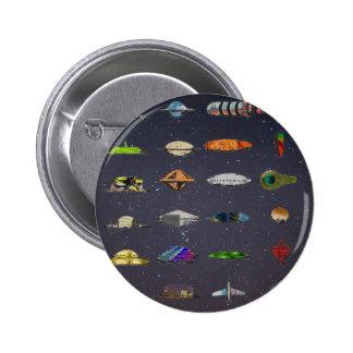 UFO PIN REDONDO 5 CM