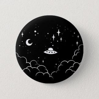 Ufo Pinback Button