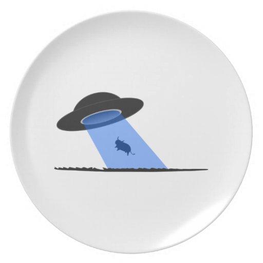 UFO PLATOS DE COMIDAS