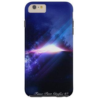 UFO por la falsa pata Grafix Funda Para iPhone 6 Plus Tough