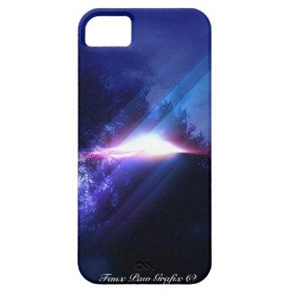 UFO por la falsa pata Grafix iPhone 5 Carcasas