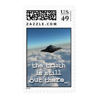 UFO Postage stamp