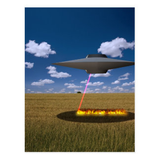 UFO POSTCARD