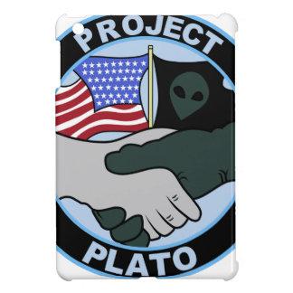 UFO PROJECT PLATO 5 PATCH ALIEN SECRET BASE COVER FOR THE iPad MINI