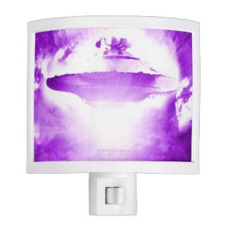 UFO Purple Arrival Nightlight