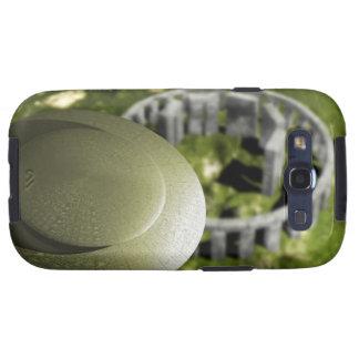 UFO que investiga el sitio de Stonehenge como él Galaxy S3 Protectores