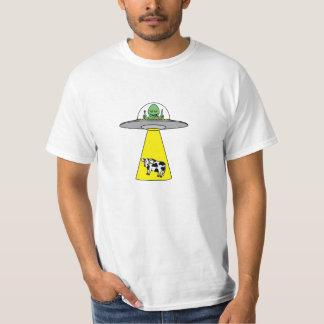 UFO que toma la vaca Playera