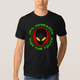 UFO Research Seek The Truth Tees