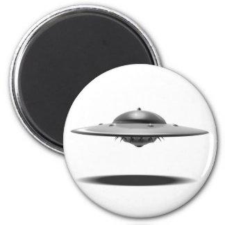 UFO Salamander 2 Inch Round Magnet