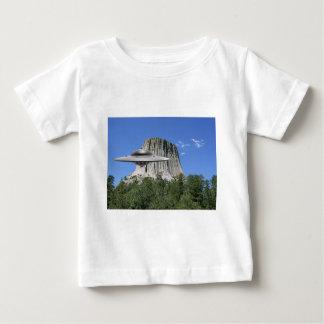 UFO Salamander at Devils Tower Baby T-Shirt