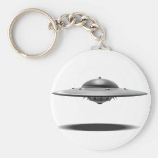 UFO Salamander Keychain