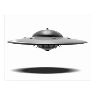 UFO Salamander Postcard