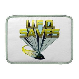 UFO Saves Macbook Air Sleeve