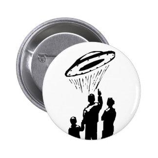 UFO Sighting Pinback Button
