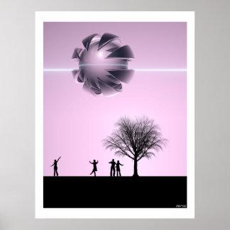 UFO Sighting Poster