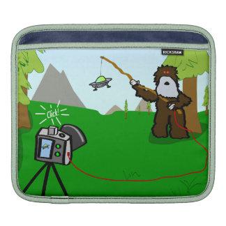 UFO Sightings: Created by Bigfoot! Sleeve For iPads