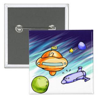 UFO Signpost Pins