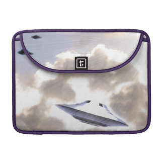 "UFO Silver Beamship 13"" MacBook Pro Sleeve"