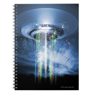 UFO SPIRAL NOTEBOOK