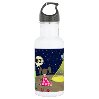 UFO STAINLESS STEEL WATER BOTTLE