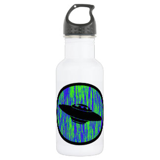 UFO STATIC FREQUENCY STAINLESS STEEL WATER BOTTLE