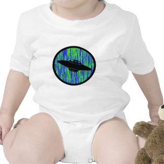UFO STATIC FREQUENCY BABY BODYSUIT