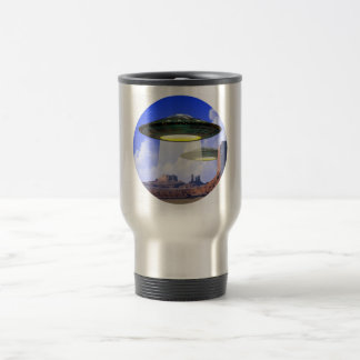 UFO steel travel mug