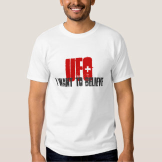 UFO T-Shirt - I Want to Believe