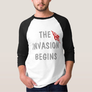 UFO T-Shirt - The Invasion Begins