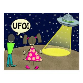 UFO TARJETAS POSTALES