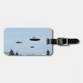 UFO Trio Bag Tag
