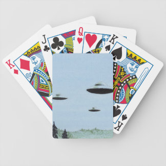 UFO Trio Bicycle Playing Cards