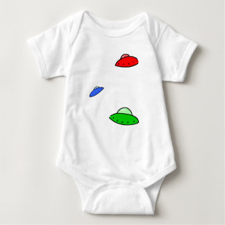 UFOs Baby Bodysuit