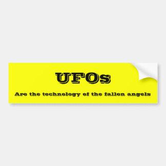 UFOs Pegatina De Parachoque