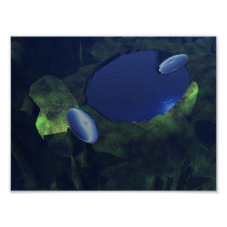 UFOs en noche Impresiones