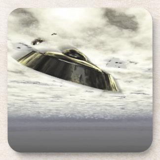 UFOs en vuelo Posavasos De Bebidas