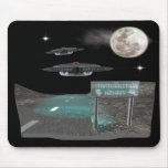 UFOS Highway Mouse Pad