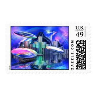 UFOS IN OZ POSTAGE