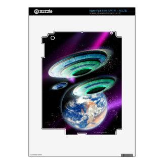 UFOs iPad 3 Decal