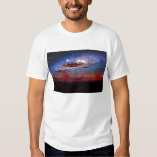 UFOs Over Monument Valley T-Shirt