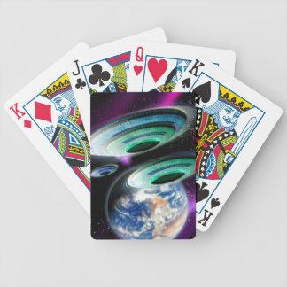 UFOs Bicycle Card Deck