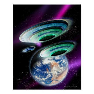 UFOs Poster