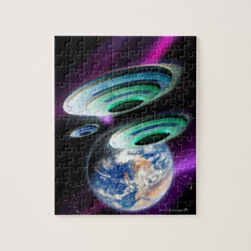 UFOs Puzzle